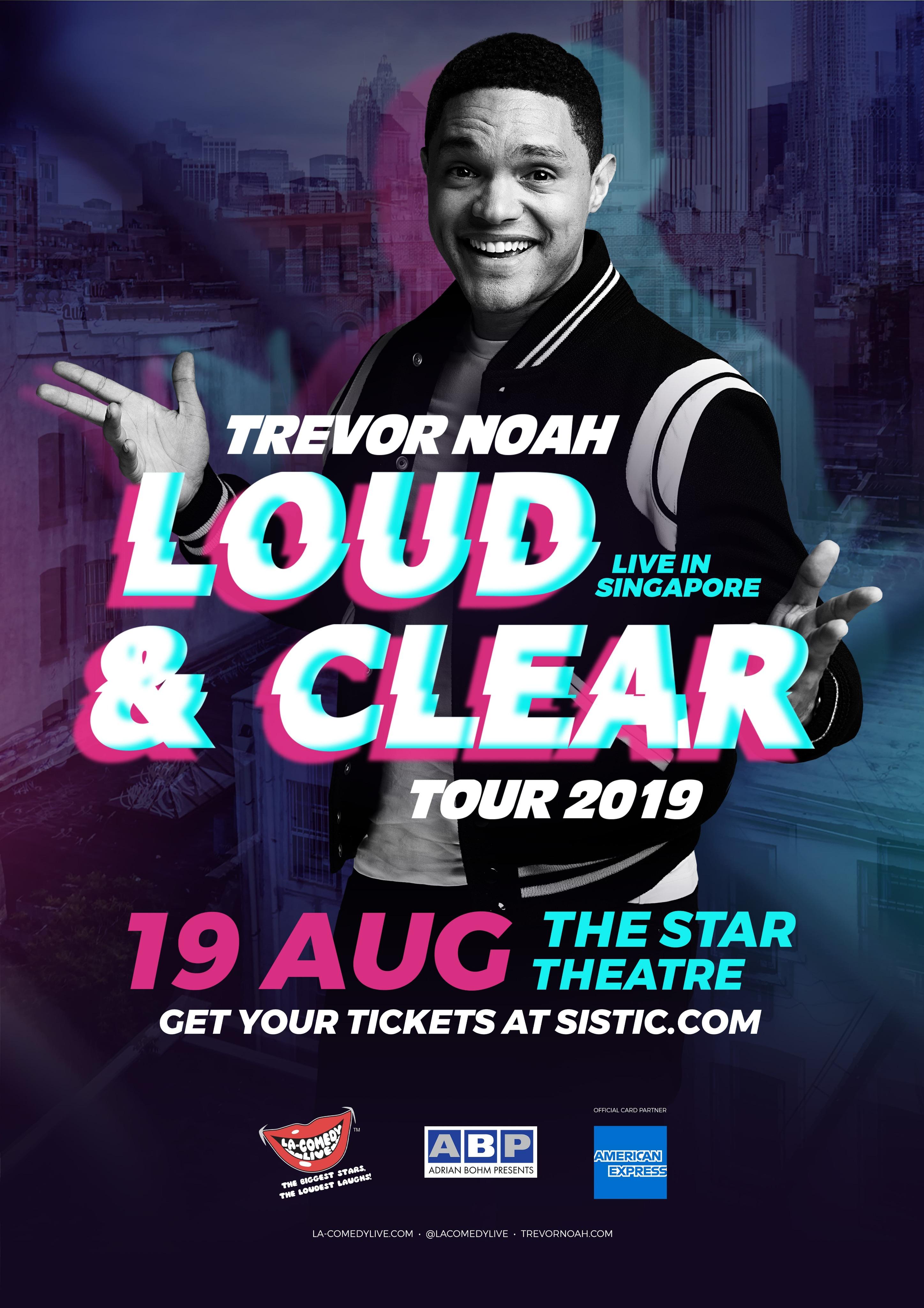 Trevor noah tour
